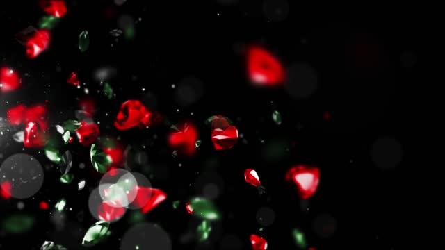 animated gems background, series - precious gem stock videos & royalty-free footage