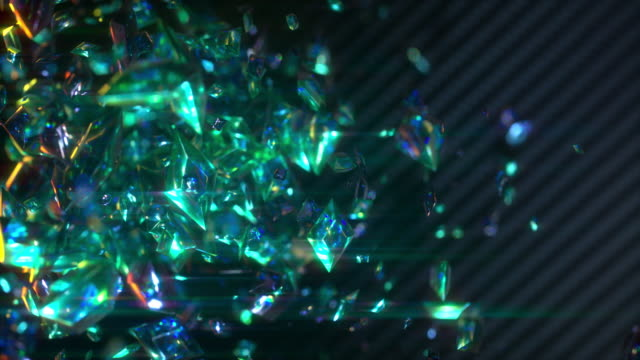 animated gems - 3d animation stock videos & royalty-free footage