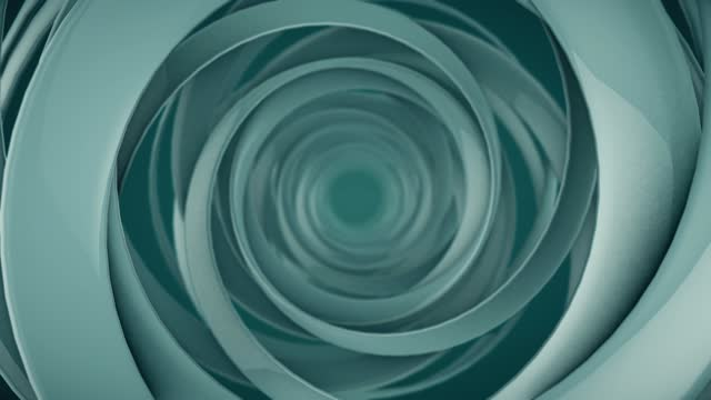 animated hypnotic tunnel abstract background. digital seamless loop animation. 3d rendering. 4k, ultra hd - spiral stock videos & royalty-free footage