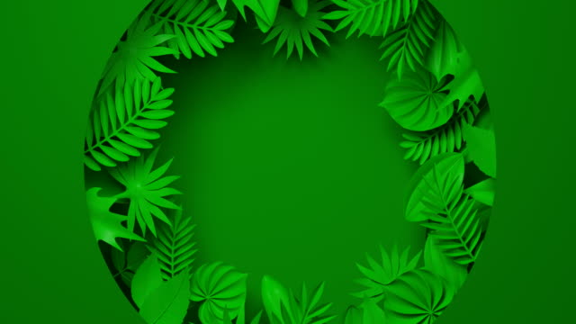 animated paper backgrounds 4k. cartoon nature. - green stock videos & royalty-free footage