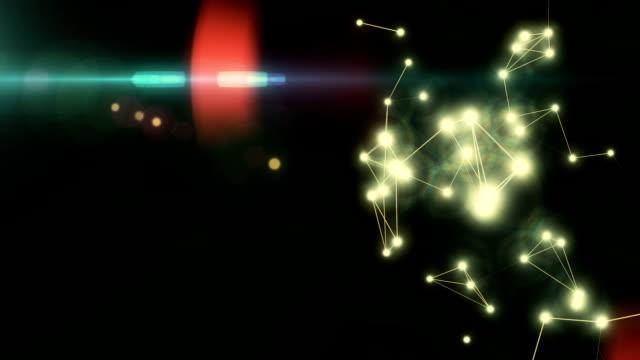 Animierte Plexus Hintergrund v2