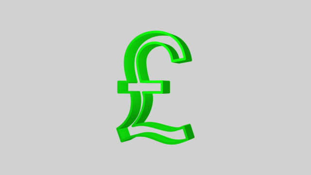 Pound Sterling Symbol Videos And B Roll Footage Getty Images
