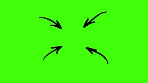 stockvideo's en b-roll-footage met geanimeerde schetsen - pijlen - arrow symbol