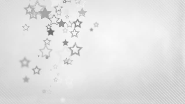 animated stars background loop - outlined grey (full hd) - award stock videos & royalty-free footage