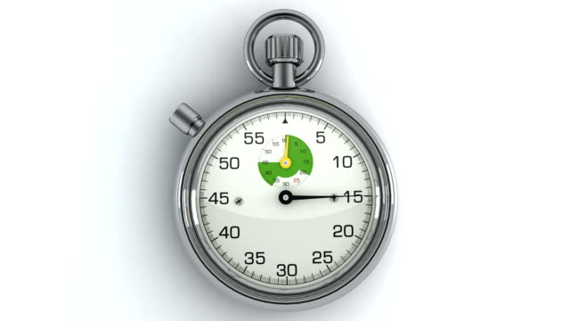 3D Animated Stopwatch