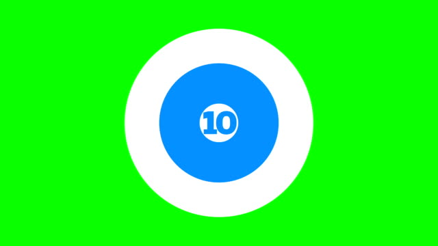 animated top 10 title - number 10 stock videos & royalty-free footage