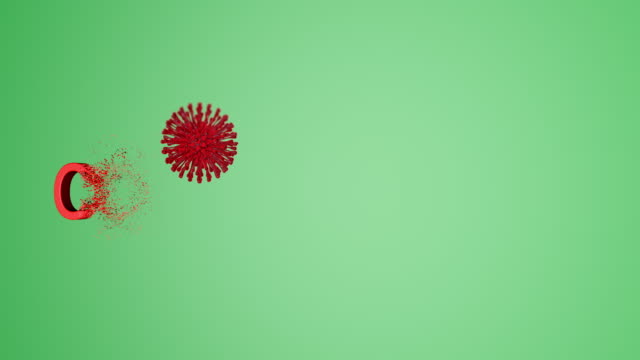 "animated video of the ""coronavirus"" word that is formed from particles - capital letter stock videos & royalty-free footage"