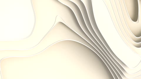animated white paper cut abstract background. 3d rendering digital loop animation. hd resolution - film composite stock videos & royalty-free footage