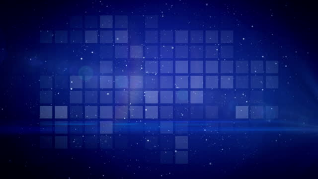animation background blue - square stock videos and b-roll footage