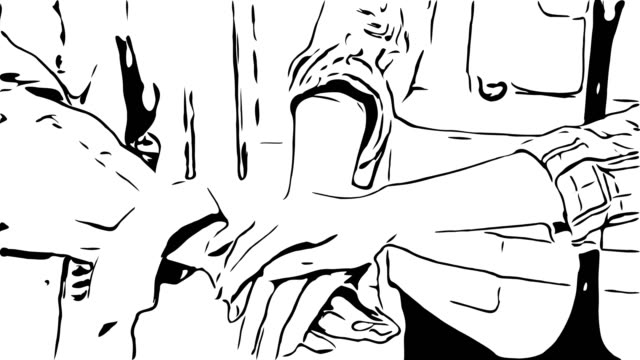 animation cartoon sketch , hand sign , teamwork - continuity stock videos & royalty-free footage