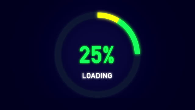 animation loading alpha channel bar - downloading stock videos & royalty-free footage