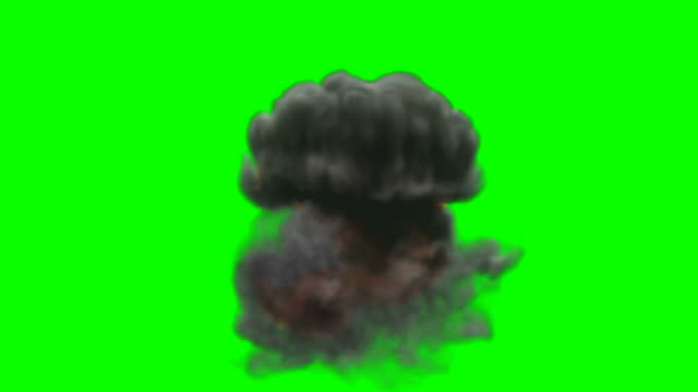 animation of fire burning - cartoon fire - green box - infinite loop - smoke physical structure stock videos & royalty-free footage