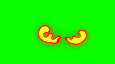 animering av fire burning - tecknad film brand - grön box - oändlig loop - fackla bildbanksvideor och videomaterial från bakom kulisserna