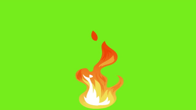animation of fire burning - flame stock videos & royalty-free footage