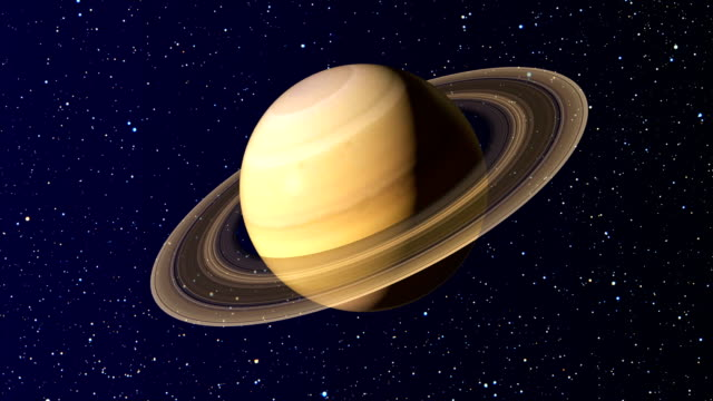 animation of solar system planets - loop 4k - surface level stock videos & royalty-free footage