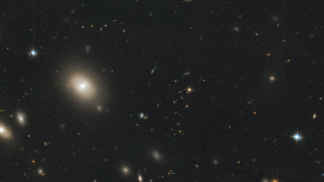 animation of still - coma cluster abell 1656 - ethereal stock videos & royalty-free footage