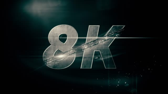 8k animation - wide screen stock videos & royalty-free footage
