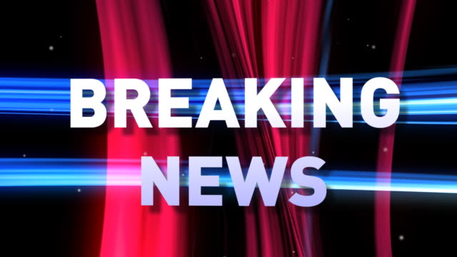 HD: 3D BREAKING NEWS animation