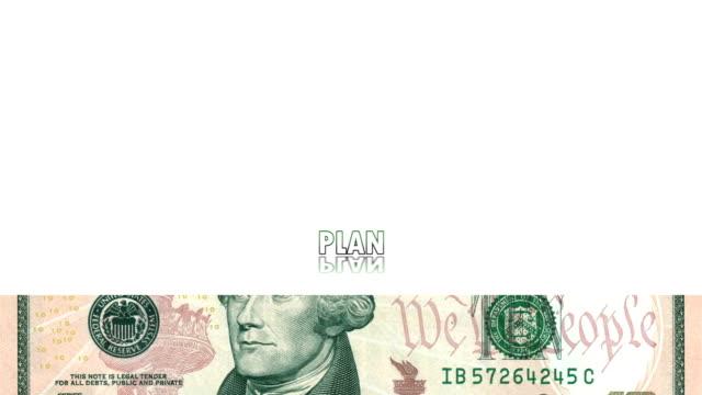 HD: Animation With Dollar Bills