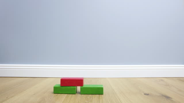 T/L WS Animation with multicolored building blocks