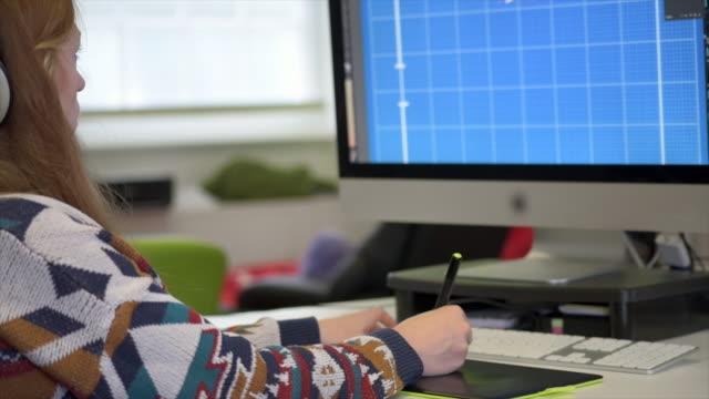 animator using graphics tablet - animator stock videos & royalty-free footage
