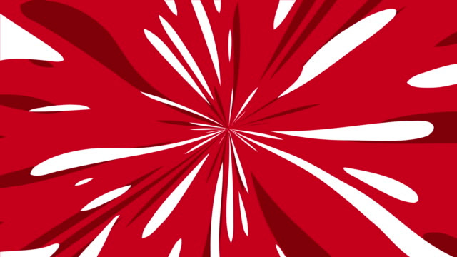 anime background of comic speedline radial background - manga style stock videos & royalty-free footage