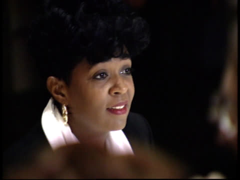 anita baker poses for photographs - friars roast 1993 stock videos and b-roll footage