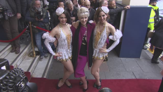 anita dobson at 42nd street opening night after party on april 04 2017 in london england - anita dobson stock videos & royalty-free footage