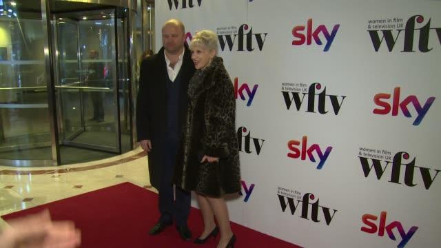 anita dobson at london hilton on december 01 2017 in london england - anita dobson stock videos & royalty-free footage