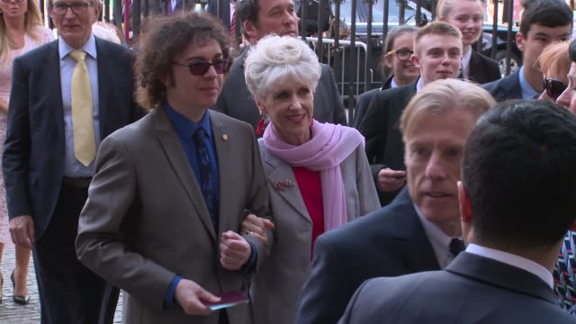 anita dobson at westminster abbey on june 15 2018 in london england - anita dobson stock videos & royalty-free footage