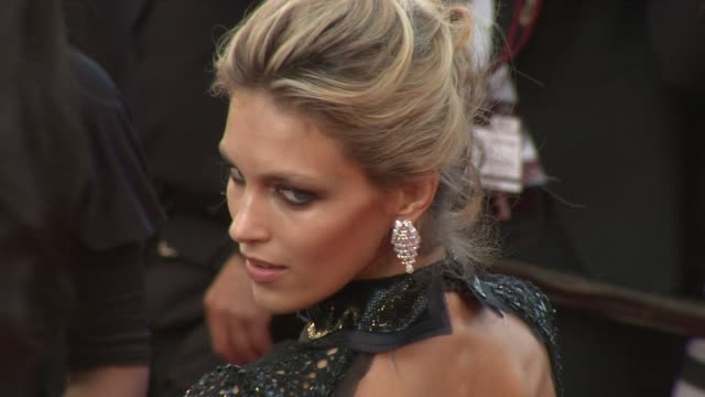 Anja Rubik at the 'This Must Be The Place' Premiere during the 64th Cannes Film Festival at the This Must Be the Place Red Carpet Arrivals 64th...