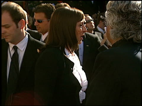 anjelica huston at the 2002 emmy awards at the shrine auditorium in los angeles california on september 22 2002 - anjelica huston stock videos & royalty-free footage