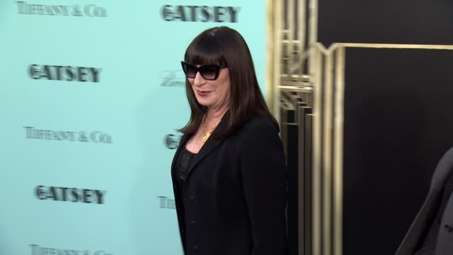 Anjelica Huston at 'The Great Gatsby' World Premiere at Avery Fisher Hall at Lincoln Center for the Performing Arts on May 01 2013 in New York New...