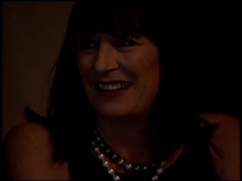 anjelica huston at the huston school of film launch at the beverly hilton in beverly hills california on may 2 2003 - anjelica huston stock videos & royalty-free footage