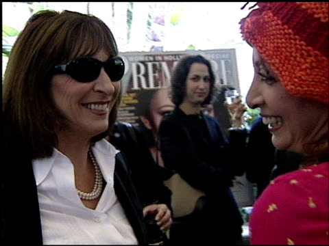 anjelica huston at the women in hollywood luncheon at the four seasons hotel in beverly hills california on october 11 2000 - anjelica huston stock videos & royalty-free footage