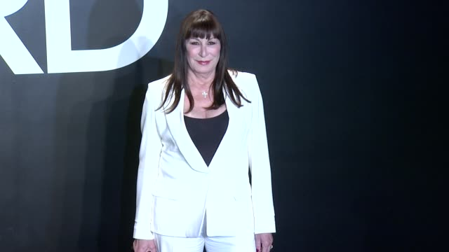 anjelica huston at tom ford presents his autumn/winter 2015 womenswear collection at milk studios on february 20 2015 in los angeles california - anjelica huston stock videos & royalty-free footage