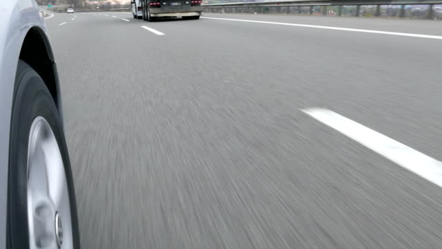 ankara - istanbul highway and tyres - tarmac stock videos & royalty-free footage