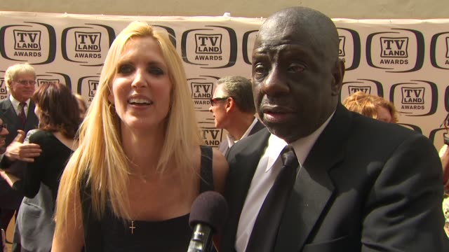 Ann Coulter and Jimmie Walker on being at the TV Land Awards on their favorite classic television shows and on what they're working on at the 8th...