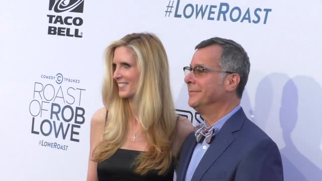 Ann Coulter and Kent Alterman at the Comedy Central Roast of Rob Lowe at Sony Pictures Studios in Culver City at Celebrity Sightings in Los Angeles...