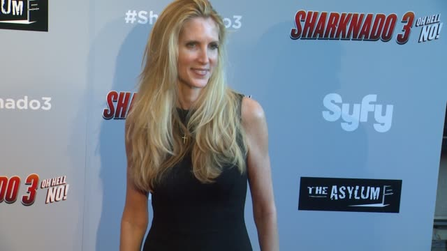 Ann Coulter at The Asylum's 'Sharknado 3 Oh Hell No' Los Angeles Premiere at iPic Theaters on July 22 2015 in Los Angeles California