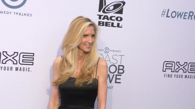 Ann Coulter at the Comedy Central Roast of Rob Lowe at Sony Pictures Studios in Culver City at Celebrity Sightings in Los Angeles on August 27 2016...