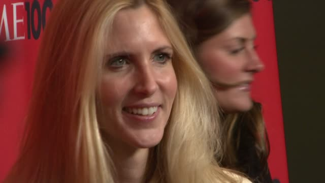 Ann Coulter at the Time 100 Gala Celebrating the 100 Most Influential People in the World at New York NY