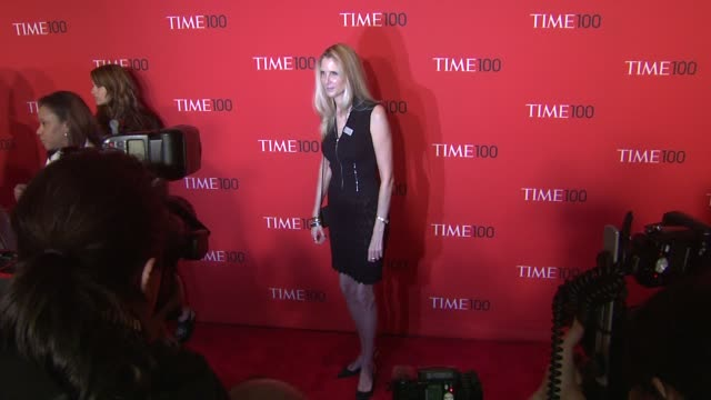 Ann Coulter at the TIME 100 Gala TIME'S 100 Most Influential People In The World at New York NY