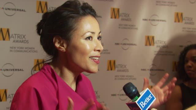 ann curry at the 2009 matrix awards at new york ny. - ann curry stock videos & royalty-free footage