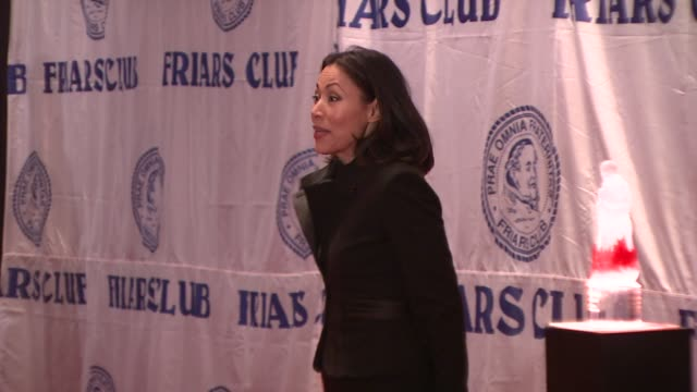 ann curry at the friars club roast of matt lauer at new york ny. - ann curry stock videos & royalty-free footage