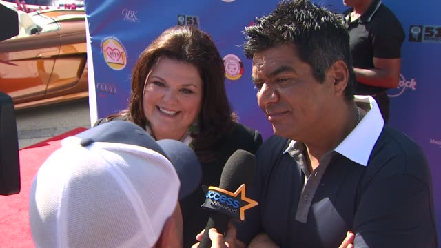 Ann Lopez and George Lopez at the Third Annual George Lopez Celebrity Golf Classic 2010 Audi quattro Cup at Toluca Lake CA
