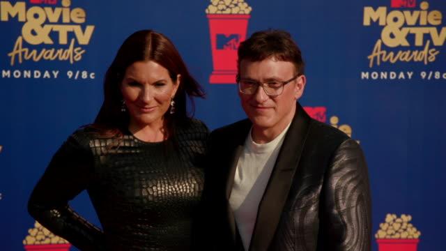 MOTION Ann Russo and Anthony Russo at 2019 MTV Movie TV Awards at Barkar Hangar on June 15 2019 in Santa Monica California
