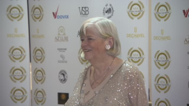 ann widdecombe at the 4th annual national film awards at porchester hall on march 28, 2018 in london, england. - ann widdecombe stock videos & royalty-free footage