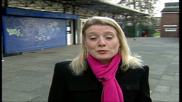 ann widdecombe spends time on two run-down estates in islington & brixton; day reporter to camera - ann widdecombe stock videos & royalty-free footage