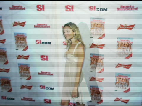 anna beatriz barros at the 2006 sports illustrated swimsuit issue photocall at crobar in new york new york on february 14 2006 - sports illustrated swimsuit issue stock videos & royalty-free footage